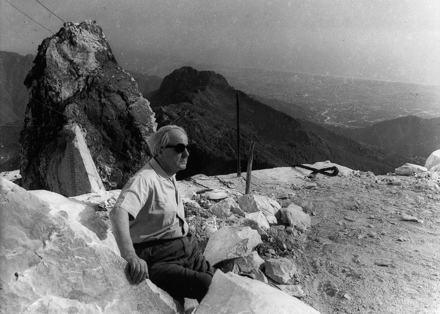 Henry Moore, Monte Altissimo, Seravezza, ca. 1960