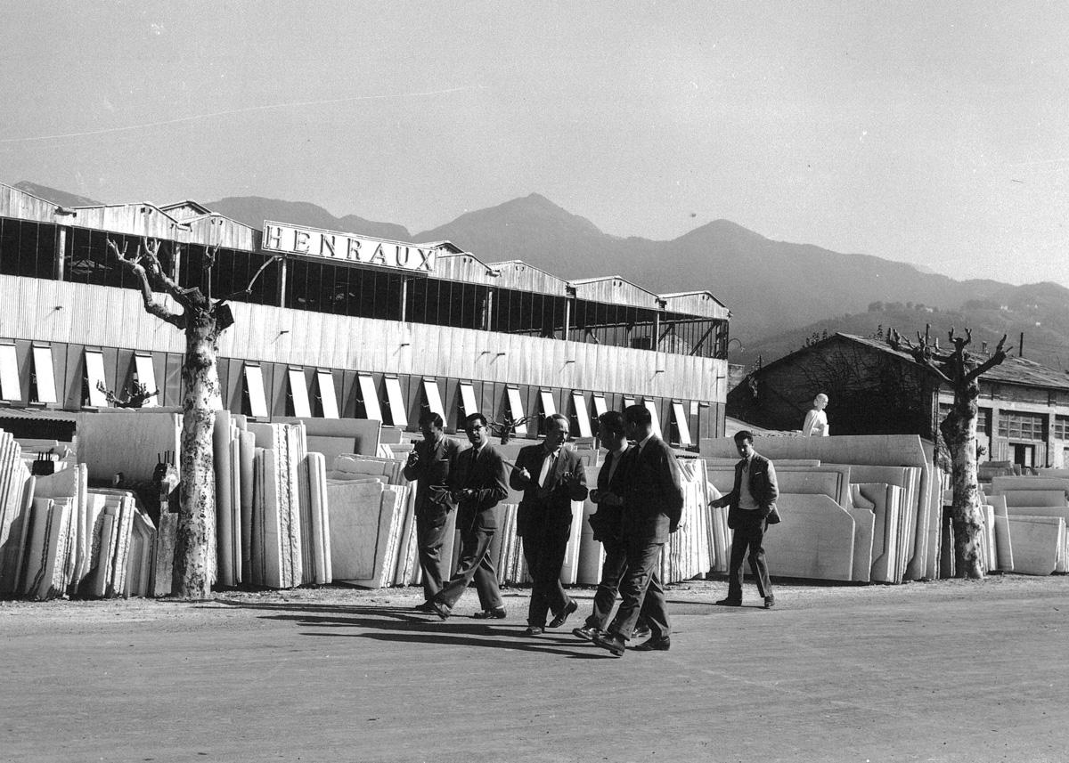 Henraux, Querceta, Lucca, 1956